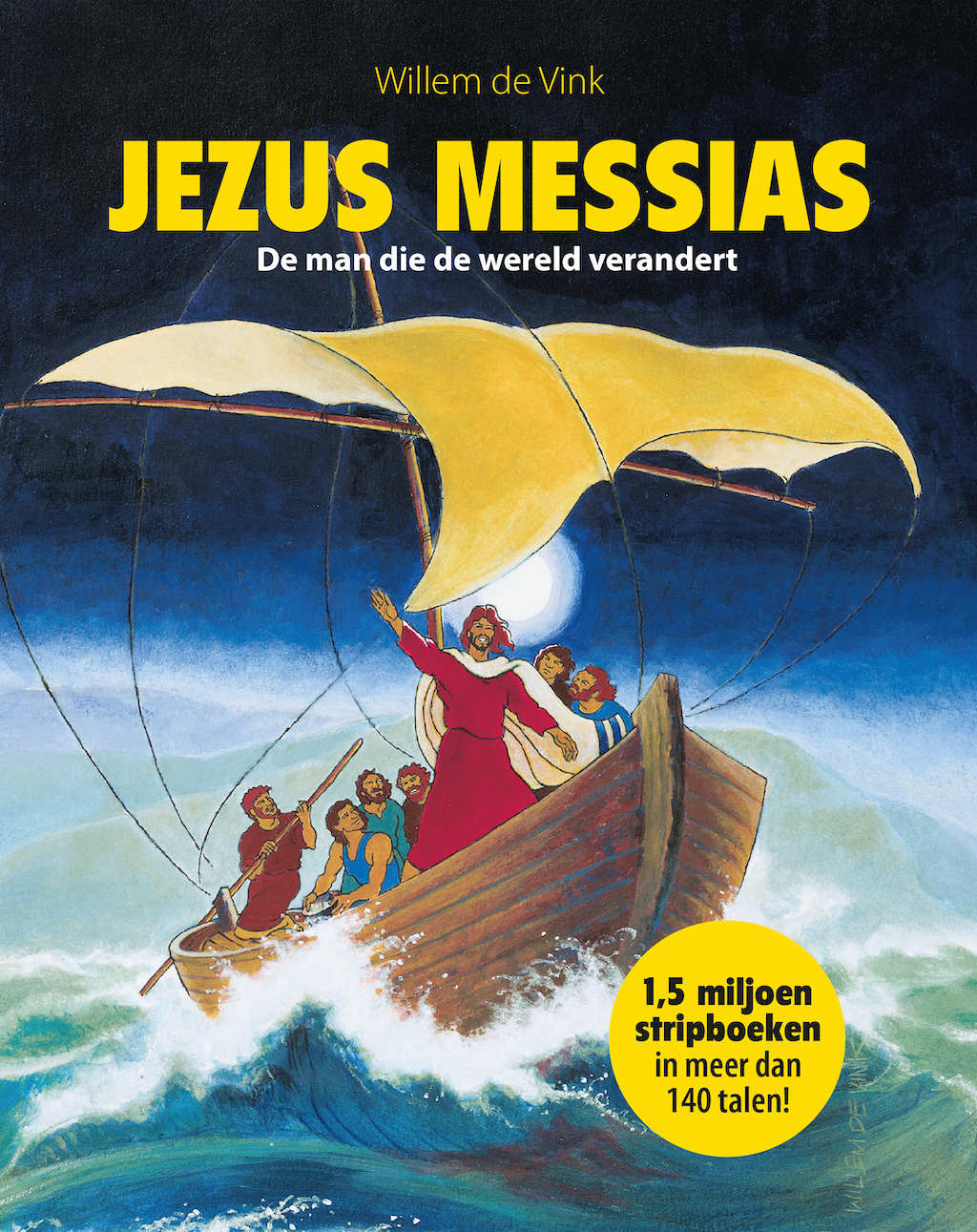 Stripboek Jezus Messias nu al in 140 talen | Uitdaging